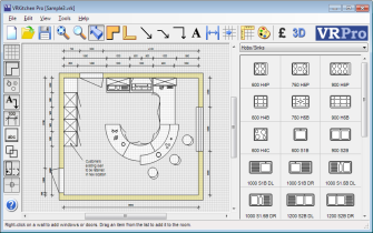 CAD Interface Kitchen Design ...