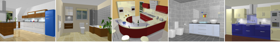 Images from our Bathroom Design Software